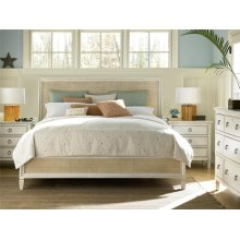 Woven Accent Queen Bed