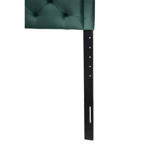 Emerald Home Twin 3/3 Upholstered Headboard Emerald Green #501