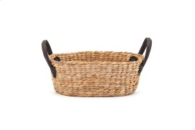 Derby Basket with Leather Handles