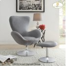 Accent Chair and Ottoman Product Image