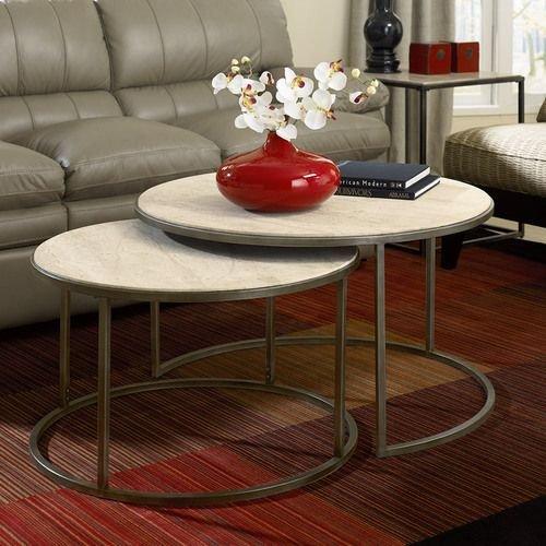 Modern Basics Round Cocktail Table