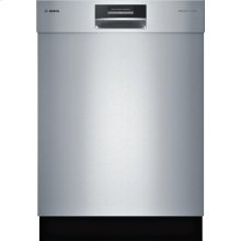 """FLOOR MODEL 24"""" Recessed Handle Dishwasher SHE8PT55UC Benchmark Series- Stainless steel"""