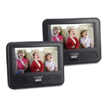 """Dual 7"""" Screen Mobile DVD System"""