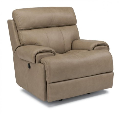 Margot Leather Power Gliding Recliner