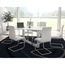 Lloyd 7pc Dining Set, White