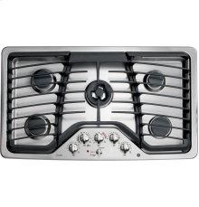 "GE Profile™ Series 36"" Built-In Gas Cooktop- Out of Carton"