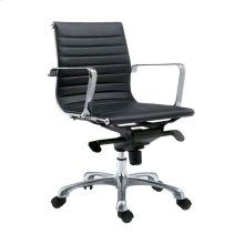 Omega Office Chair Low Back Black-M2