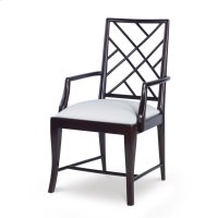Stocked Crossback Arm Chair Product Image