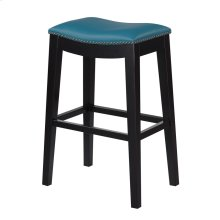 30'' Bar Stool W/no Back-kd-pu Teal#al850-10 (2/ctn)