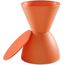 Haste Stool in Orange