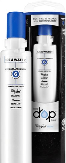 EveryDrop Ice & Water Refrigerator Filter 6