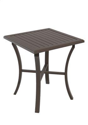 """Banchetto Square 36"""" Bar Table, KD"""