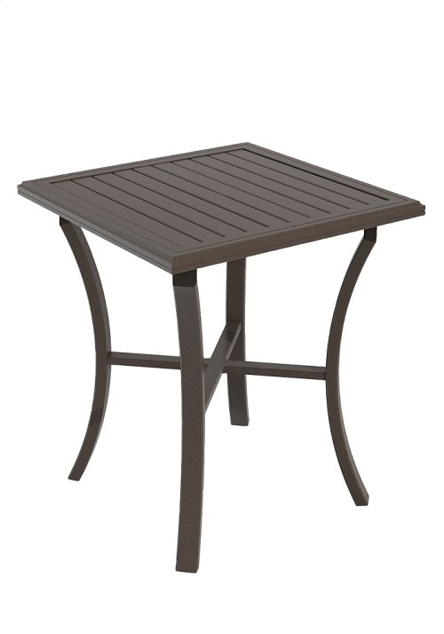 "Banchetto Square 36"" Bar Table, KD"