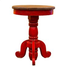 """Red : 23"""" x 32"""" Reception End Table"""
