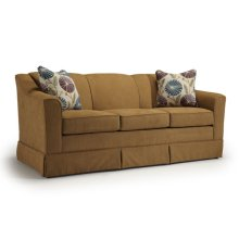 Emeline Collection S92 Stationary Sofa With Skirt