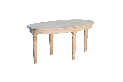 Cocktail Table, Available in Washed Texture Finish Only.
