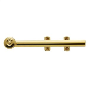 Lifetime Polished Brass Decorative Heavy Duty Surface Bolt Product Image