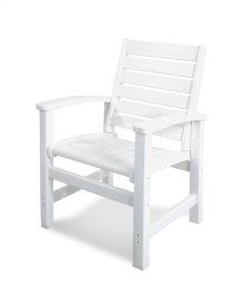 White Signature Dining Chair