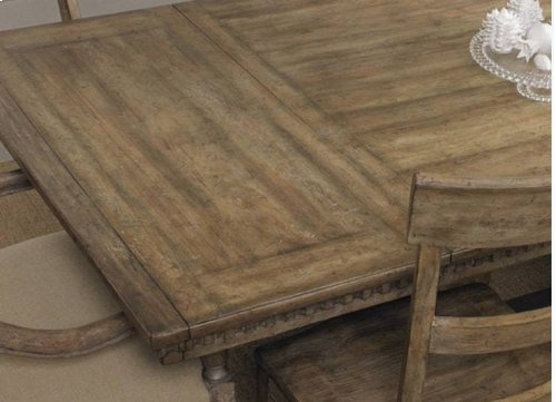 """Sorella Rectangle Dining Table w/2-18"""" leaves"""