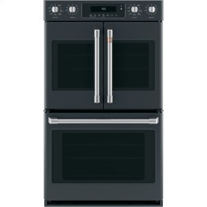 "Cafe Appliances30"" Smart French-Door, Double Wall Oven with Convection"