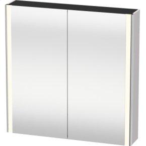 Mirror Cabinet, White Lilac Satin Matt Lacquer