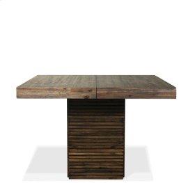 Modern Gatherings Table Base 146 lbs Brushed Acacia finish