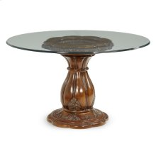 Dining Table With Round Glass Top
