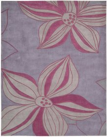 Contour Con19 Violet Rectangle Rug 7'3'' X 9'3''