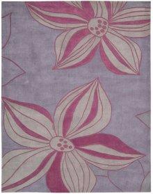 Contour Con19 Violet Rectangle Rug 7'3'' X 9'3''