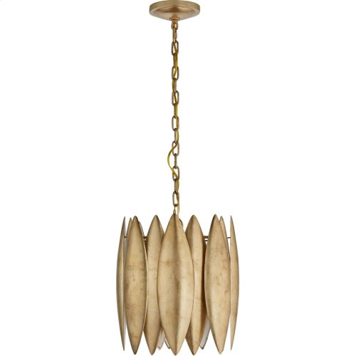Visual Comfort S5047G Barry Goralnick Hatton 4 Light 15 inch Gild Pendant Ceiling Light, Barry Goralnick, Small