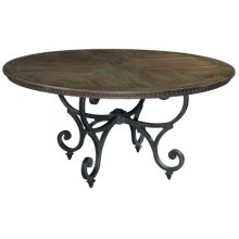 Turtle Creek Round Dining Table