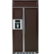 "GE Profile Series 42"" Built-In Side-by-Side Refrigerator"