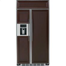 "GE Profile Series 48"" Built-In Side-by-Side Refrigerator"