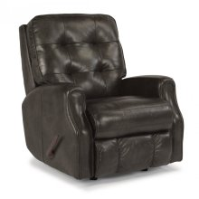 Devon Leather Rocking Recliner without Nailhead Trim