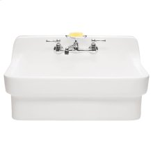 Country Kitchen Sink - White