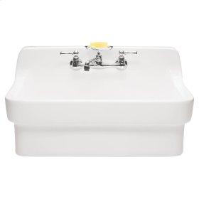 Country Kitchen Sink - White