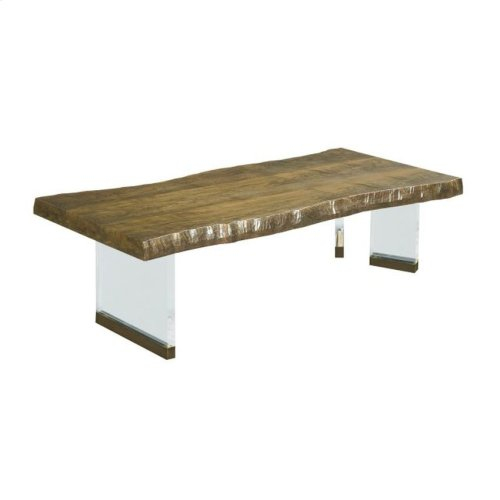 BREVARD LIVE EDGE COCKTAIL TABLE