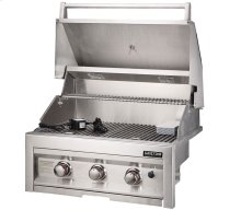 3-Burner Natural Gas Grill, 28-Inch