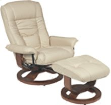 R-084 Mario Buff Leather Recliner