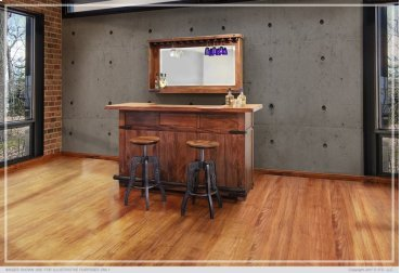 """30"""" Barstool with Faux Leather seat"""