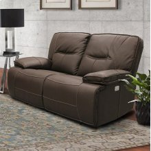 Spartacus Chocolate Power Loveseat