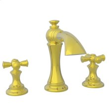 Uncoated Polished Brass - Living Widespread Lavatory Faucet