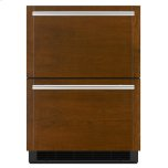 "JENNAIR CANADAPanel-Ready 24"" Double-Refrigerator Drawers, Stainless Steel"