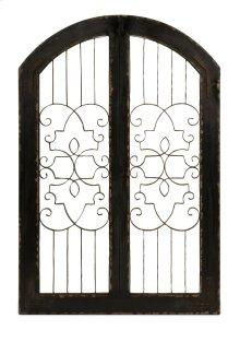 Amelia Iron and Wood Gate