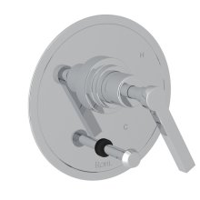 Polished Chrome Campo Pressure Balance Trim With Diverter with Metal Lever