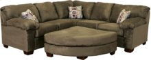 Contemporary L Arm Corner W Sofa