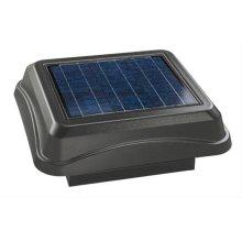 345CSOWW Curb Mount, Solar Powered Attic Ventilator in Weathered Wood