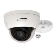 3MP Dome IP Camera with Junction Box, 2.8mm fixed lens, White Housing