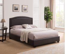 Abbotsford Platform Bed - Queen, Brown