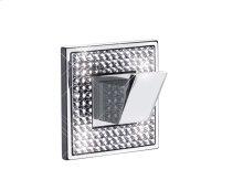 """Diamond Hook Width 2 1/2""""x height 2 1/2""""Polished Chrome"""